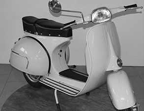 Restauration Oldtimer-Vespa